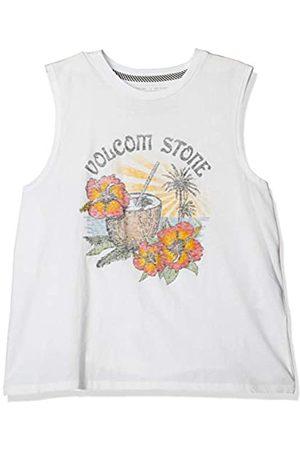 Volcom Stone Hour Tank Camiseta de Tirantes Anchos, Mujer