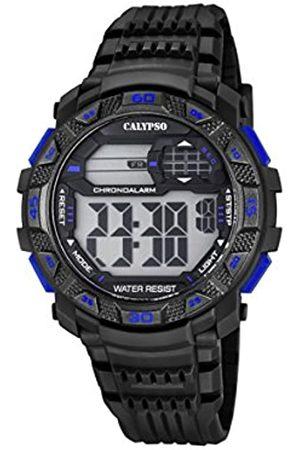 Calypso Hombre Reloj Digital con Pantalla LCD Pantalla Digital Dial y Correa de plástico en Color k5702/7