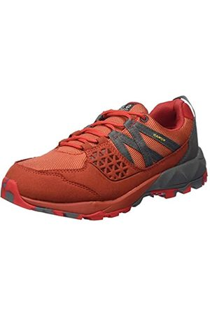 Jack Wolfskin Cascade Hike Texapore Low W Wasserdicht, Zapatos Rise Senderismo para Mujer, (Orange Coral/Pebble Grey 3037)