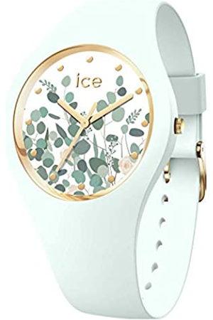 Ice-Watch ICE Flower Mint Garden Reloj para Mujer con Correa en Silicona 017581 (Medium)
