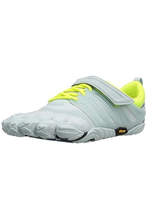 Vibram V-Train, Zapatillas Deportivas para Interior para Mujer, (Pale Blue/Safety Yellow)