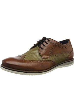 Daniel Hechter 811442021111, Zapatos de Cordones Derby para Hombre, (Cognac/Light Green 6372)