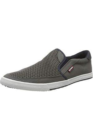 TOM TAILOR 8080601, Zapatos de Cordones Oxford para Hombre, (Grey 00011)
