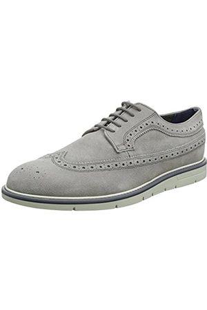 Geox U Uvet A, Zapatos de Cordones Brogue para Hombre, (Stone)