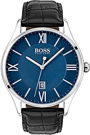 Hugo Boss Reloj Analógico para Hombre de Cuarzo con Correa en Cuero 1513553
