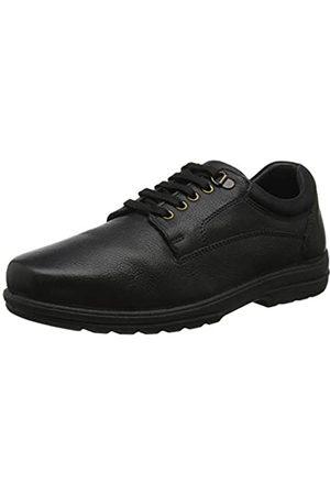 Padders Declan, Zapatos de Cordones Derby para Hombre, (Black 38)