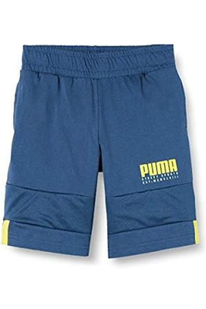 PUMA Alpha Jersey Shorts B Pantalones Cortos, Niños