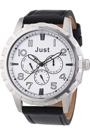 Just Watches 48-S4997SL-BK - Reloj analógico de Cuarzo para Hombre
