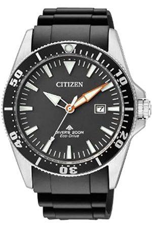Citizen Reloj Analógico para Hombre de Cuarzo con Correa en Caucho BN0100-42E
