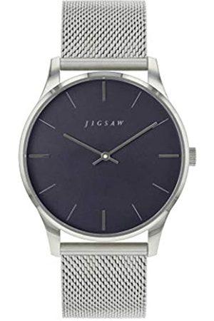 Jigsaw Reloj Analógico para Mujer de Cuarzo con Correa en Acero Inoxidable JG4007