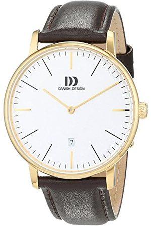 Danish Design Reloj Analogico para Hombre de Cuarzo con Correa en Cuero IQ15Q1175