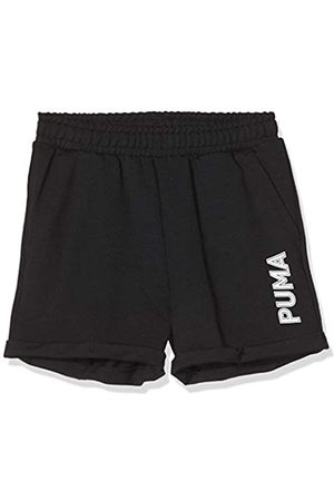 Puma Modern Sports Shorts G Pantalones Cortos, Niñas, Black