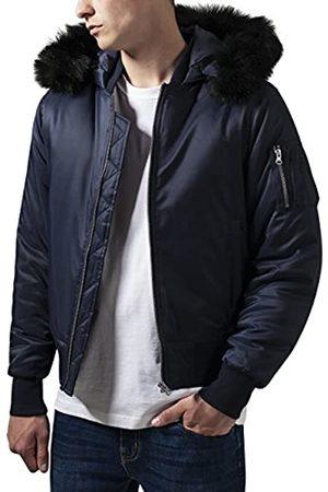 Urban classics Hooded Basic Bomber Jacket Chaqueta