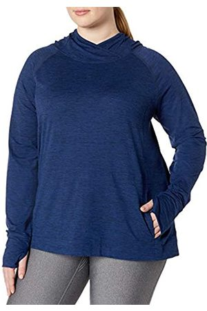 Amazon Plus Size Brushed Tech Stretch Popover Hood fashion-hoodies