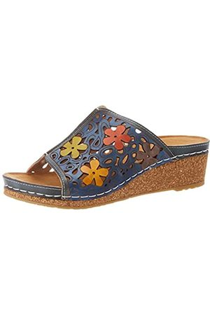 LAURA VITA Facscineo 14, Mules para Mujer, (Jeans Jeans)