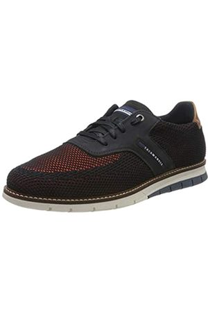 Salamander Matheus, Zapatos de Cordones Oxford para Hombre, (Navy/Orange, Navy 52)