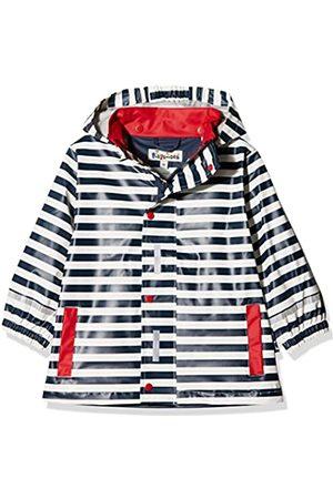 Playshoes Regenjacke Maritim, impermeable Niños, (marine/weiß)
