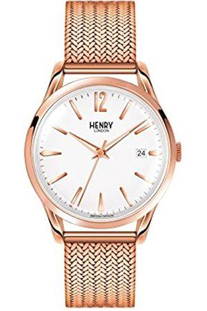 Henry Reloj Analógico para Unisex de Cuarzo con Correa en Acero Inoxidable 5018479077640