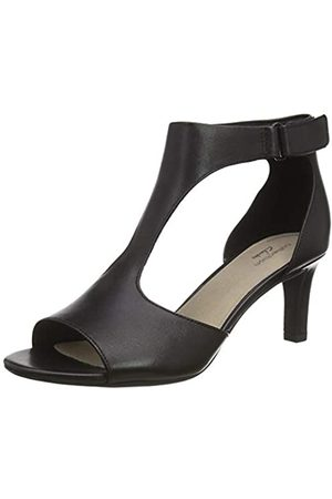 Clarks Alice Flame, Zapatos de Tacón para Mujer, (Black Leather Black Leather)