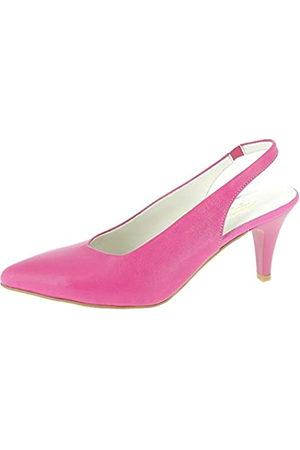 Andrea Conti 1715702, Zapatos de Talón Abierto para Mujer, (Pink 028)