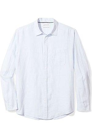 Amazon Essentials Long-Sleeve Linen Shirt Camisa
