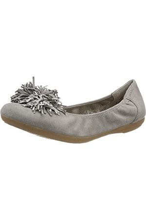 Marc Shoes Janine, Bailarinas para Mujer, (Kid Suede Light Grey 00740)