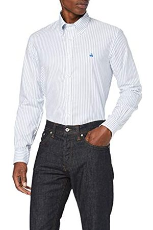 BROOKS BROTHERS Oxford Yarndyes Milano Camisa Casual