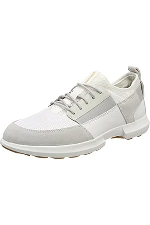 Geox U Traccia A, Zapatillas para Hombre, (Papyrus/White)