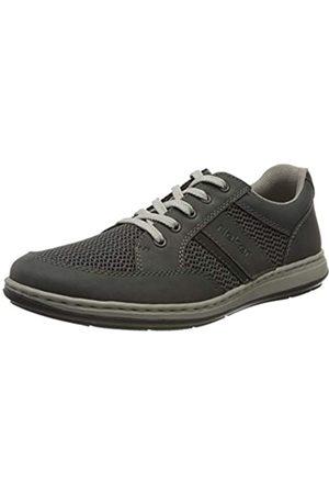 Rieker Frühjahr/Sommer, Zapatos de Cordones Derby para Hombre, (Blei/Blei/Schwarz 45)