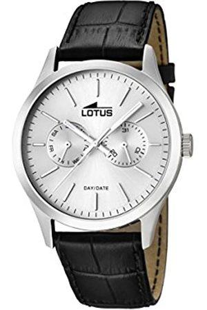 Lotus Reloj Analógico para Hombre de Cuarzo con Correa en Cuero 15956/1