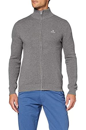 GANT Cotton Pique Zip Cardigan Chaqueta Punto