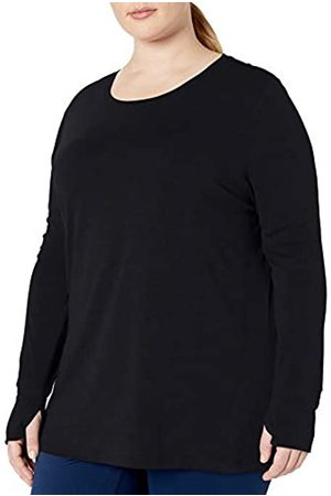 Amazon Plus Size Studio Long-Sleeve Lightweight T-Shirt fashion-t-shirts