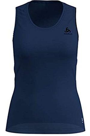 Odlo BL Top Crew Neck Singlet Active F-Dry Light Camiseta, Mujer