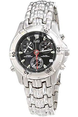 Time Force Reloj Analógico para Hombres de Cuarzo con Correa en Acero Inoxidable TF6679-02M