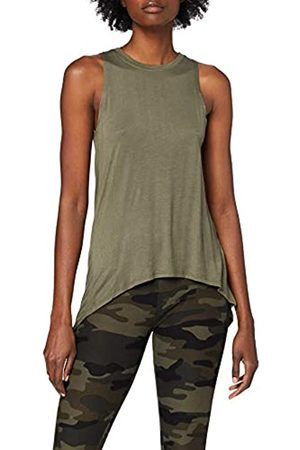 Urban classics Ladies Hilo Viscose Top Camiseta sin Mangas