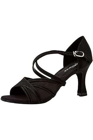 So Danca Bl162 Zapatos de baile de sociedad y latina Mujer, (Black Black/Black)