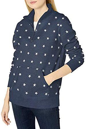 Amazon Camiseta de Manga Larga de Forro Polar de Rizo francés Ligero con Cremallera Fashion-Sweatshirts