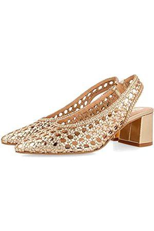 Gioseppo CANADICE, Zapatos de tacón con Punta Cerrada para Mujer, (Oro Oro)