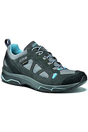 Asolo Megaton GV Ml Zapatos, Mujer, (Graphite/Stone/Cyan Blue)