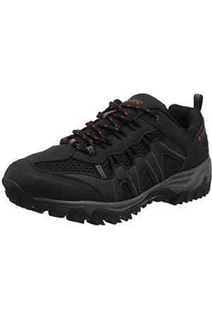 Hi-Tec Jaguar, Zapatillas de Senderismo para Hombre, (Black/Picante 21)