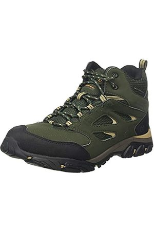 Regatta Holcombe Iep Mid Rise Hiking Boot, Botas de Senderismo para Hombre, (Bay Leaf/Oat W68)