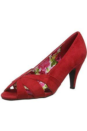 Joe Browns Sunset Boulevard Peeptoes, Zapatos Planos Mary Jane para Mujer