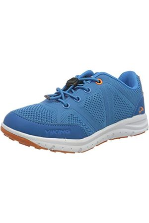 Viking Ullevaal, Zapatillas Unisex niños, (Blue/Orange 3531)