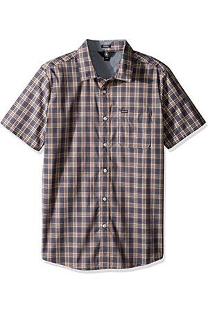 Volcom Camisa amerson Camisa de Manga Corta Camiseta de Media Manga Check Hombre Cuadros, Hombre, Amerson Hemd Kurzarm Halbarm Check Shirt Herren Kariert