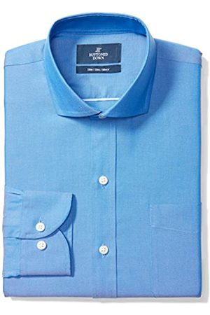 Buttoned Down Slim Fit Cutaway-Collar Solid Non-Iron Dress Shirt Camisa