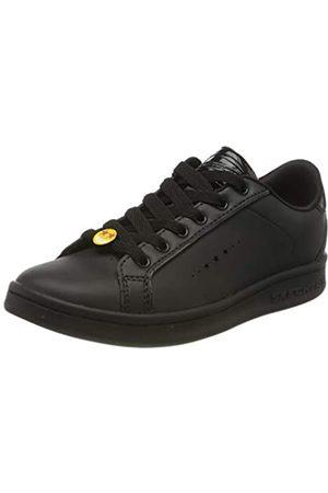 Skechers Omne Class Star, Zapatillas para Niñas, (Black Dura Leather BBK)