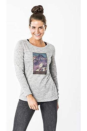 Supernatural Super.natural W Digital Print LS - Camiseta de Manga Larga para Mujer, Mujer, SNW015120L27XS