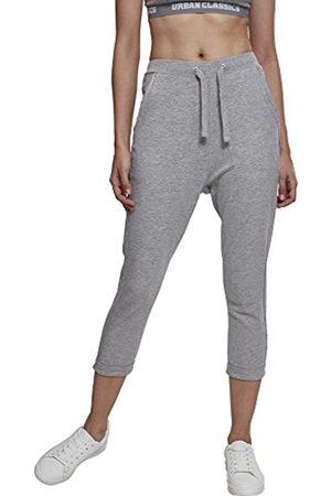 Urban classics Ladies Open Edge Terry Turn Up Pants Pantalones Deportivos