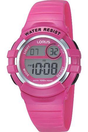 Lorus Reloj Cronógrafo para Chica de Digital con Correa en PU R2387HX9