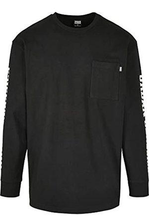 Urban classics Langarmshirt Sleeve Logo Boxy Pocket LS Pullover Camiseta